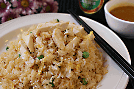 雞炒飯 Chicken Fried Rice